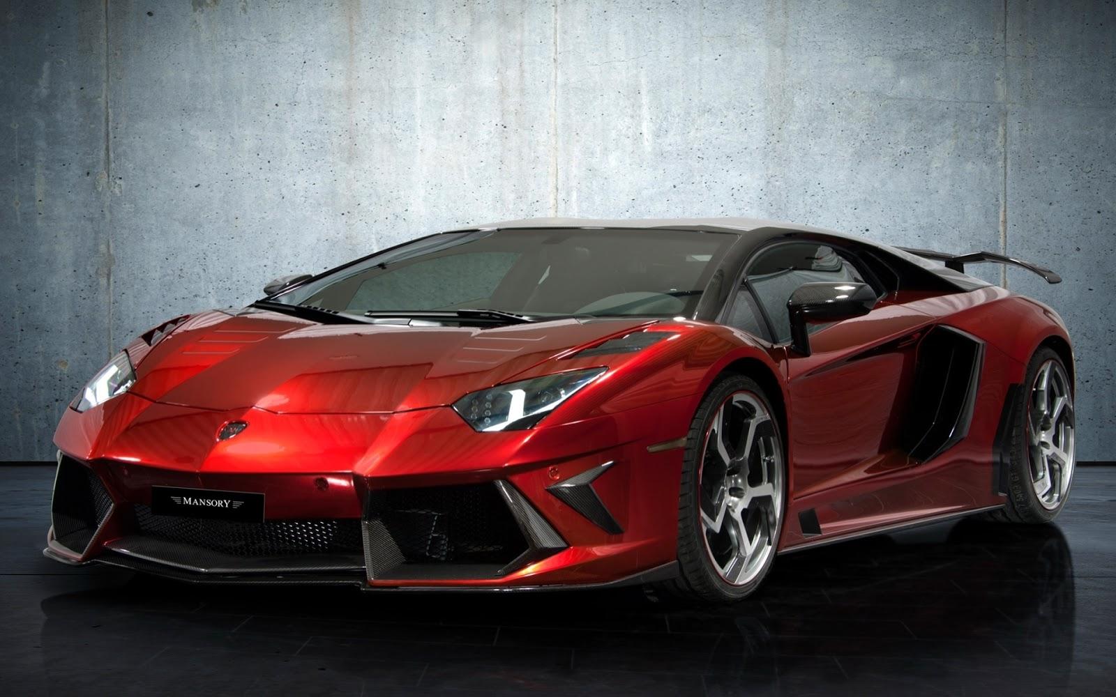 Red Lamborghini Wallpaper HD