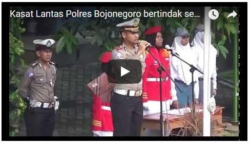 Kunjungan Kasat Lantas Polres Bojonegoro
