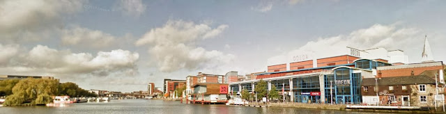 Brayford Wharf & Brayford Pool, Lincoln, UK