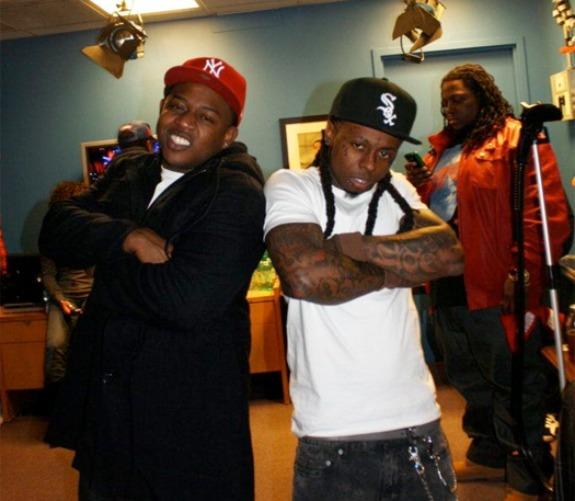Foto do Lil Wayne & Mack Maine