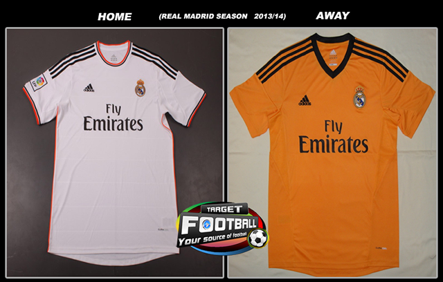Bocoran Jersey Baru Real Madrid Home and Away 2013/2014