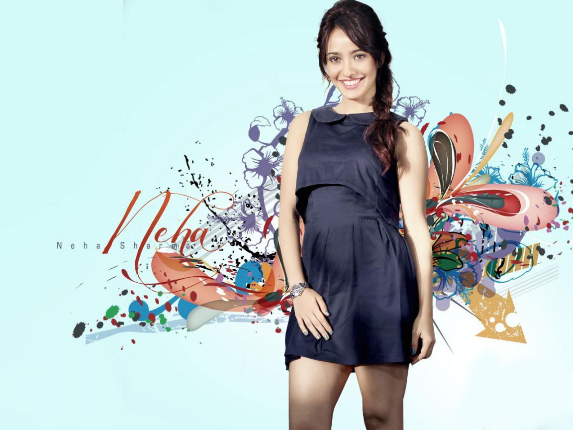 bollywood actress neha sharma hd wallpaper