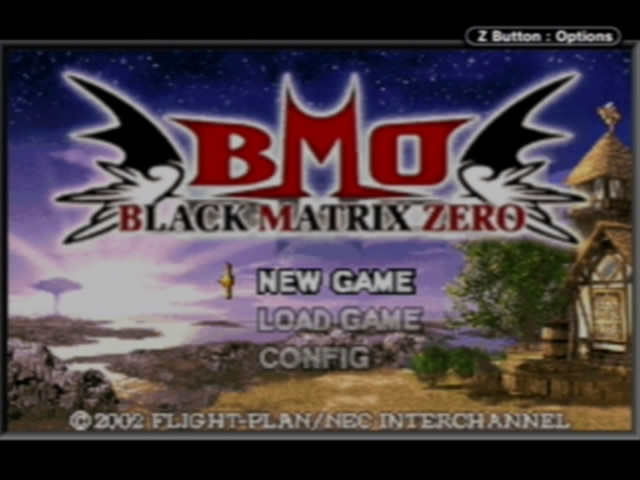 Black Matrix Zero!