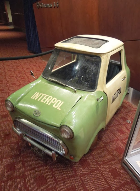 Ty Burrell Muppets Most Wanted tiny Interpol car