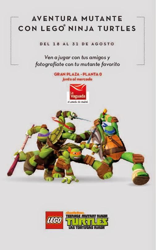 Tortugas Ninja de LEGO llegan a La Vaguada