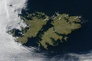 Imagen Satelital islas malvinas