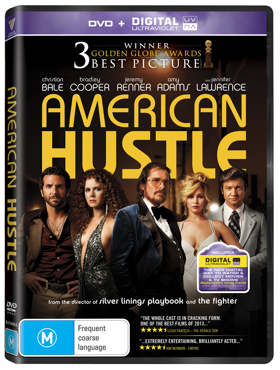 American Hustle DVDDUVR