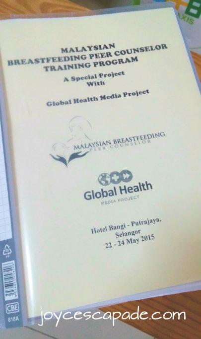 breastfeeding peer counselor training malaysian global health special counselors menyusu ibu pembimbing pimm organized malaysia