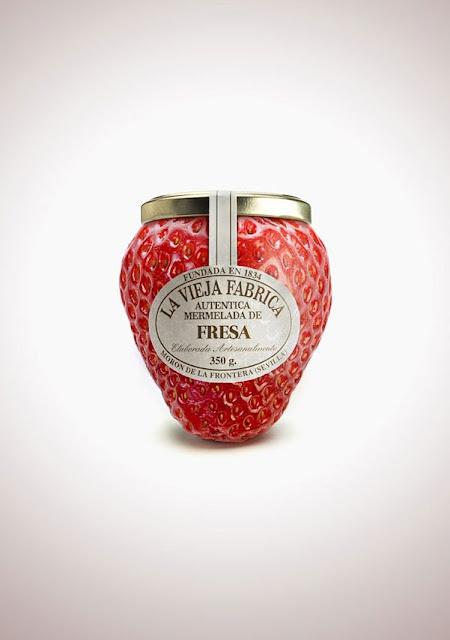 packaging mermelada de fresa