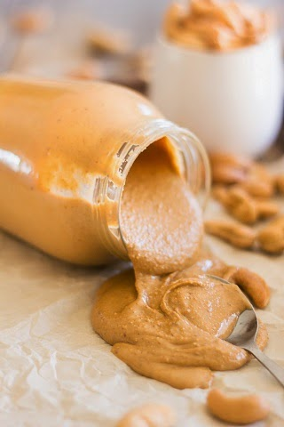 http://thehealthyfoodie.com/roasted-cashew-butter/