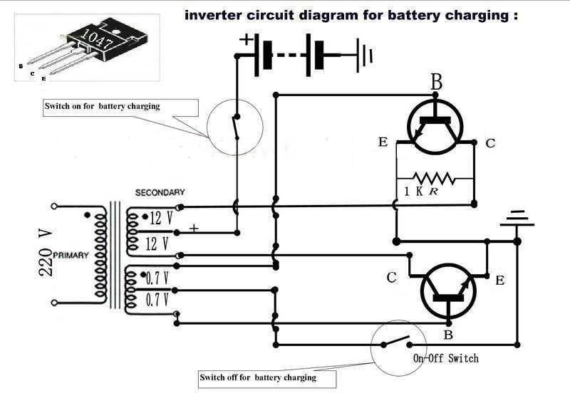 Simple Inverter Circuit Diagram 1000w Somurichcom