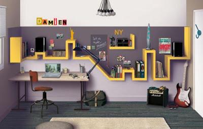 diseño oficina juvenil