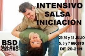 INTENSIVO DE SALSA INICIACIÓN EN BSD MÁLAGA CENTRO.