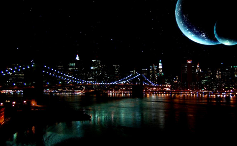 city night sky hd - photo #14
