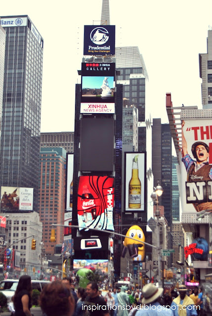 Times Square in Photos