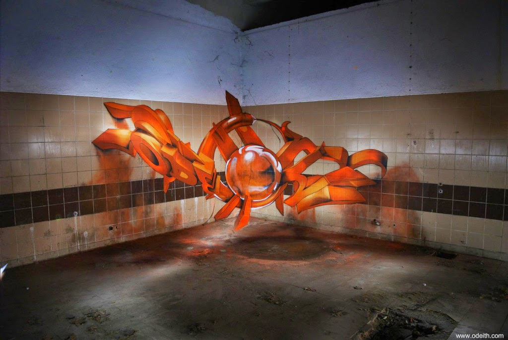 05-Orange-Floor-Light-Odeith-3D-Anamorphic-Graffiti-Drawings-www-designstack-co