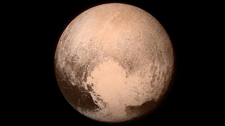 Plutón más cerca