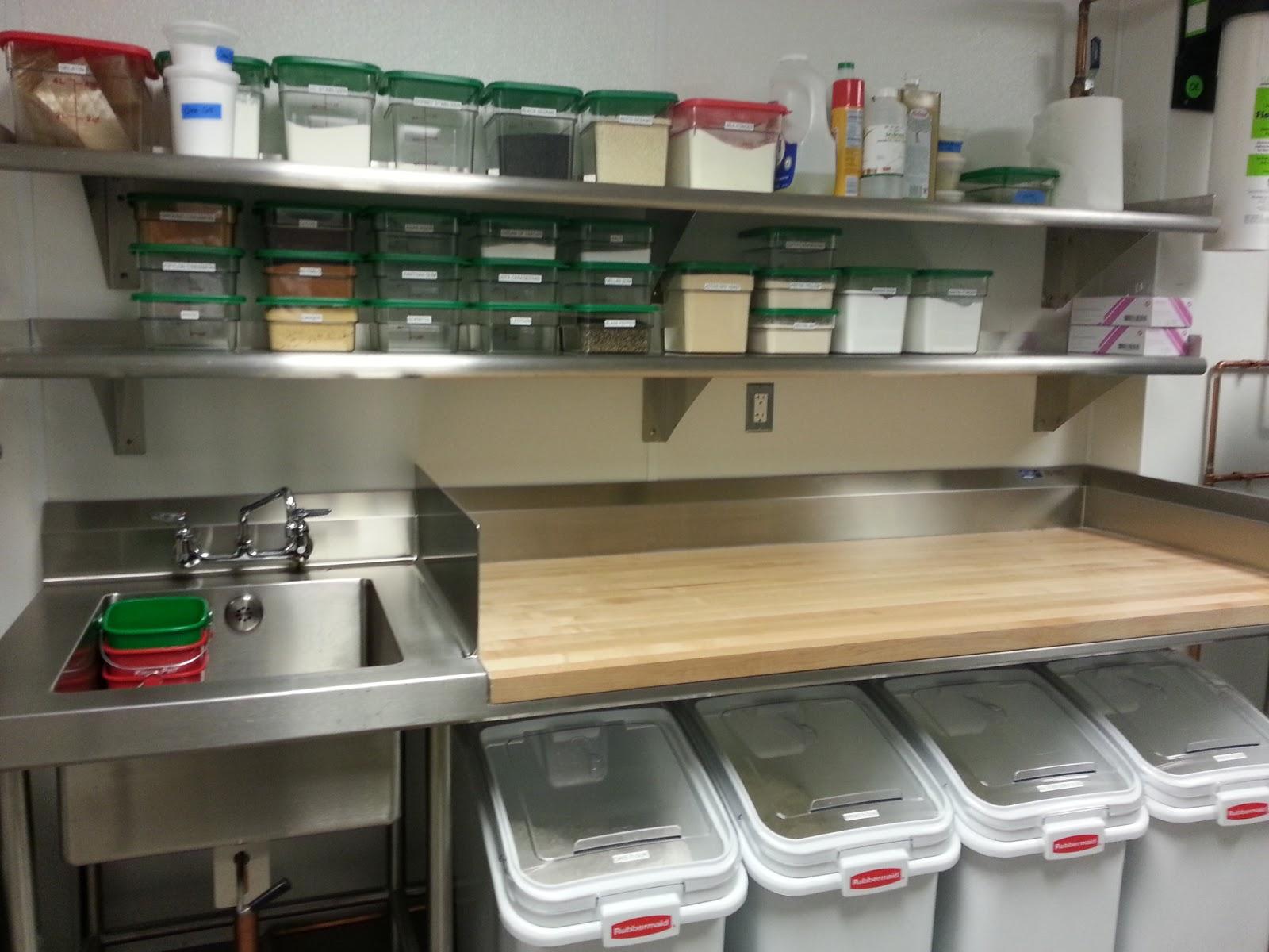 pastry kitchen design