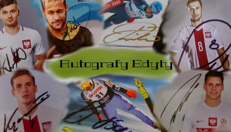 Autografy Edyty
