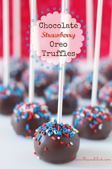 #chocolate #strawberry #oreo #truffles