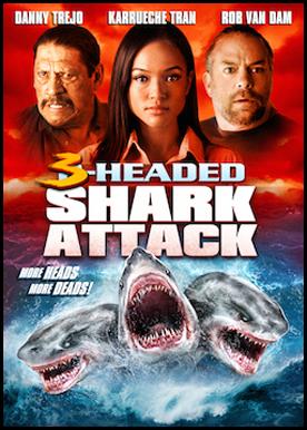 O Ataque do Tubarão de 3 Cabeças - Dublado
