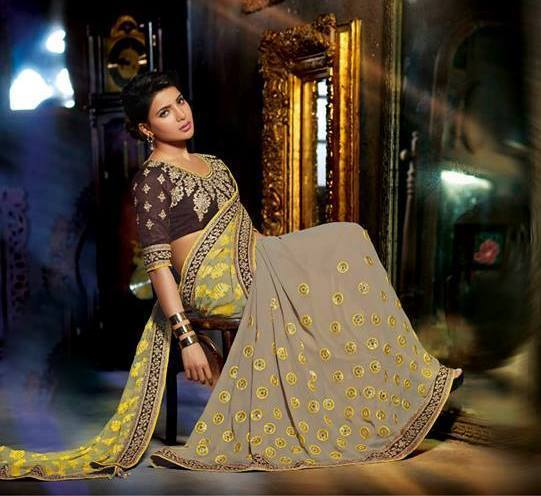Samantha Latest Saree Photoshoot 2015 Stills