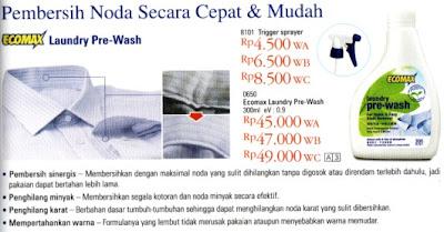 Ecomax Laundry Pre Wash