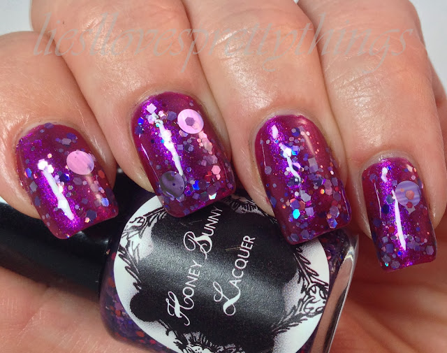 Honey Bunny Lacquer Pantera Collection The Sleep