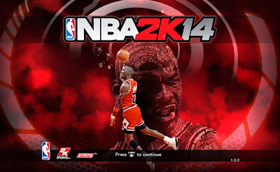 NBA 2K14 Michael Jordan Game Cover Mod