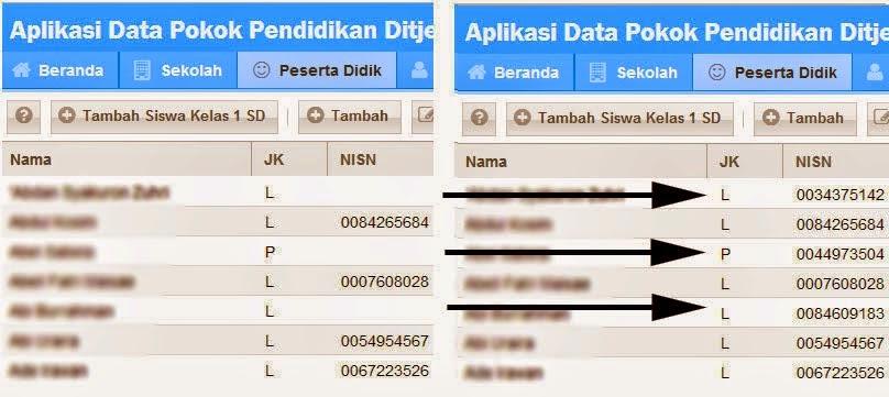Solusi Gagal Insert NISN Kedalam Aplikasi DAPODIKDAS 2014 Terbaru