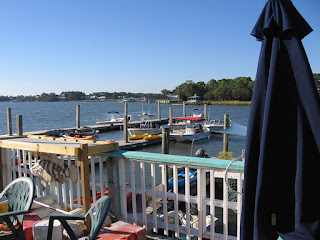 The deepwater dock at A-J's Dockside