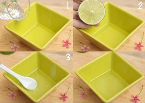 Mẹo 10 phút giúp đầu gối trắng hồng