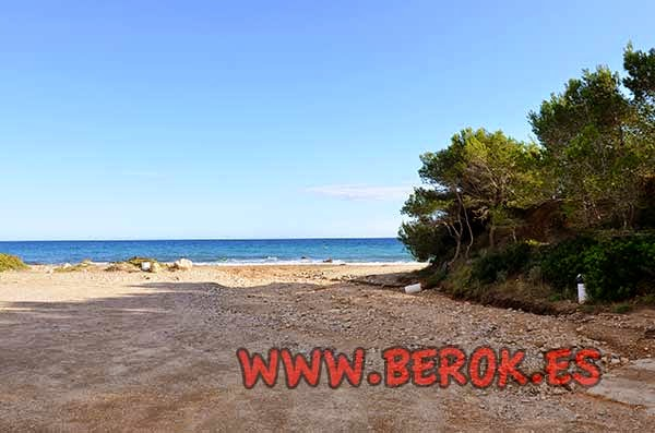 Playa camping Cala d'Oques , l'Hospitalet de l'Infant , Tarragona
