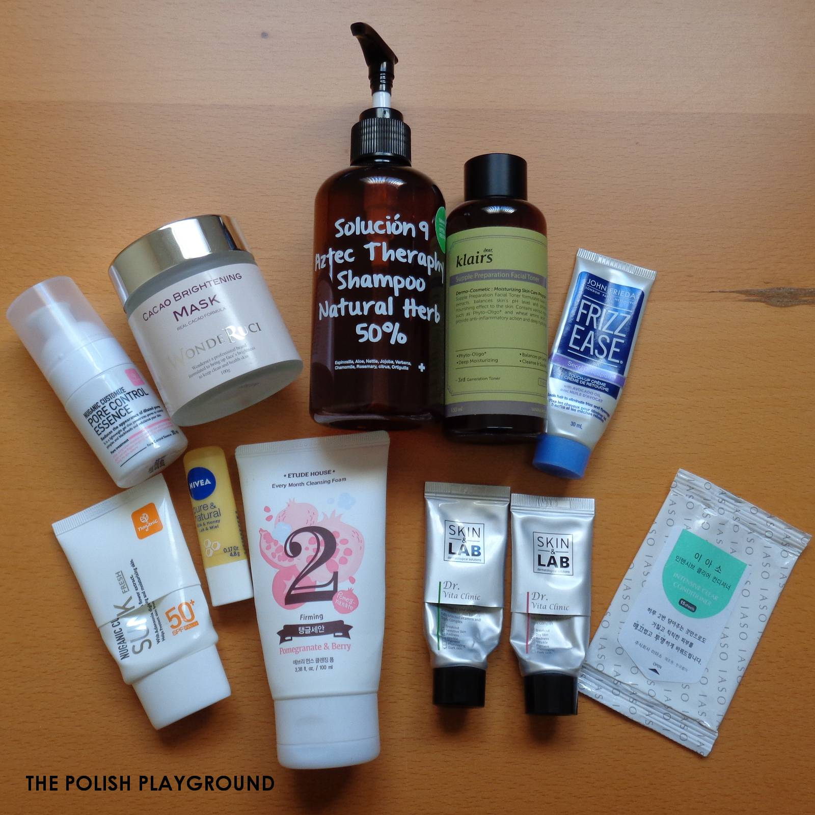 February 2015 Product Empties