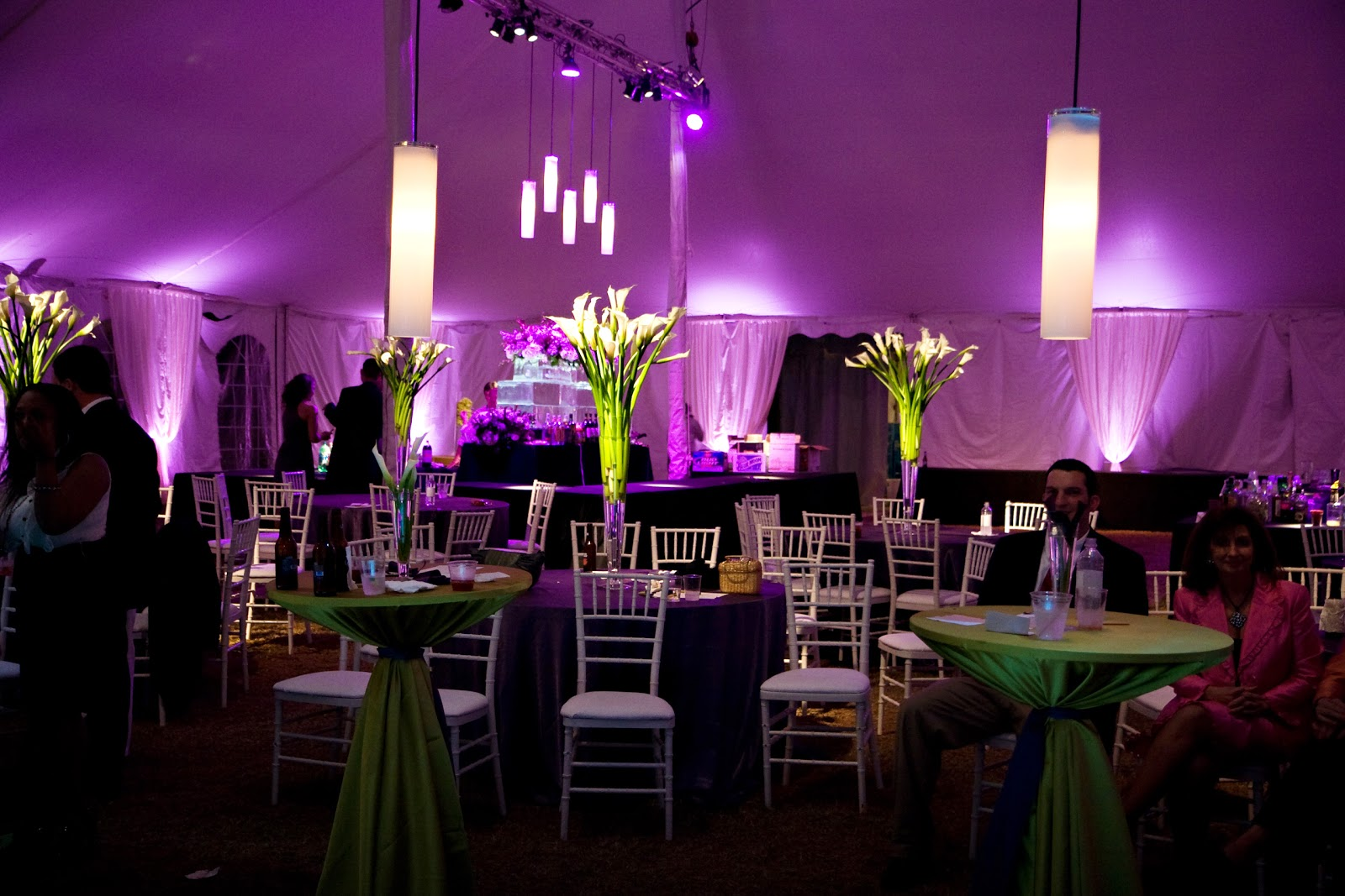 Wedding Receptions Tents Decoration & RainingBlossoms: Wedding Receptions Tents Decoration