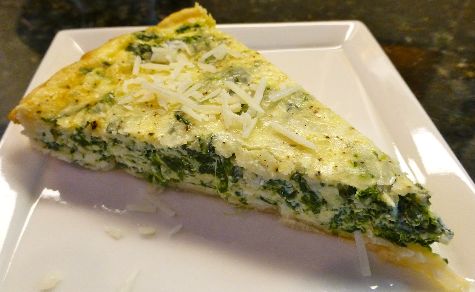 Monster Mama: Spinach Quiche