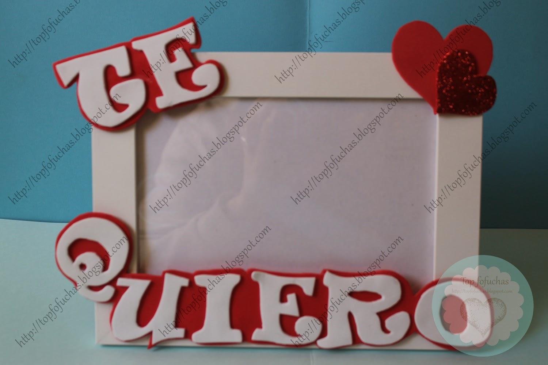 Marco de fotos Enamorados Top Fofuchas - Fofuchas personalizadas