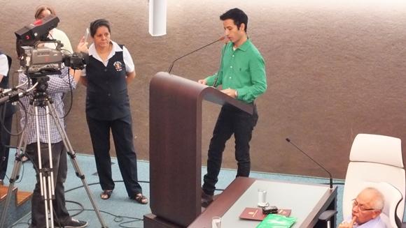 O vereador Kenny Mendes (DEM) apresentou no dia 4/4 o PL que torna o Instituto EcoFaxina uma Entidade de Utilidade Pública