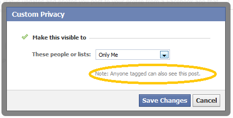 facebookプライバシー設定タグ:ESETセキュリティブログ