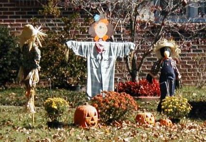 No s lo limpiamos mocos decoraci n para el dia de halloween for Jardin halloween