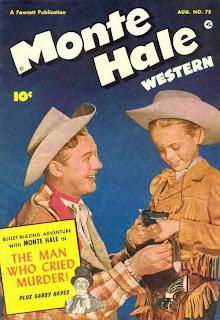 Monte Hale Western 75 The Man Who Cried Murder