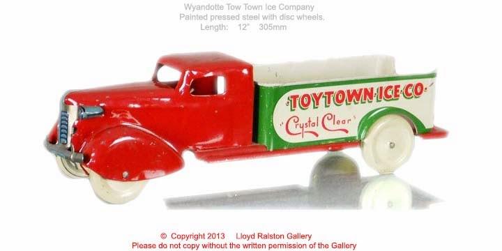 Wyandotte Toy Truck