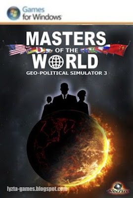 Masters of the World Geopolitical Simulator (GPS) 3 PC Cover