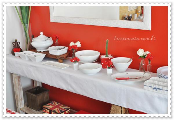 como decorar mesa de feijoada