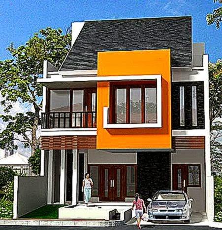 Desain Rumah Bertingkat 2 Minimalis