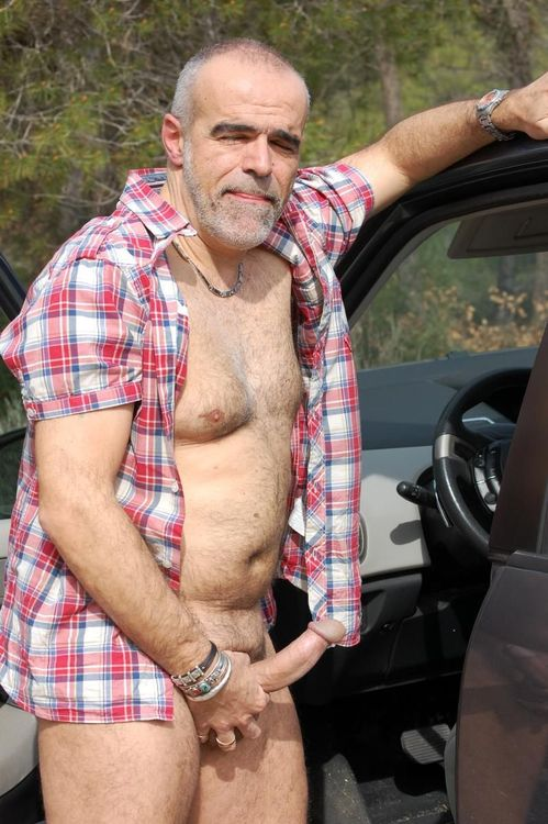 huge cock daddy - hairy sexy dad