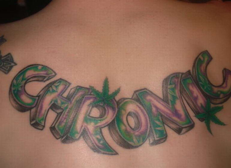 News feed marijuana 39 s tattoos for Tattoo of weed leaf