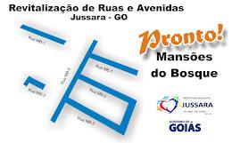 MANSÕES DO BOSQUE - ASFALTO NOVO!