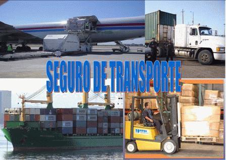 el seguro en el transporte: