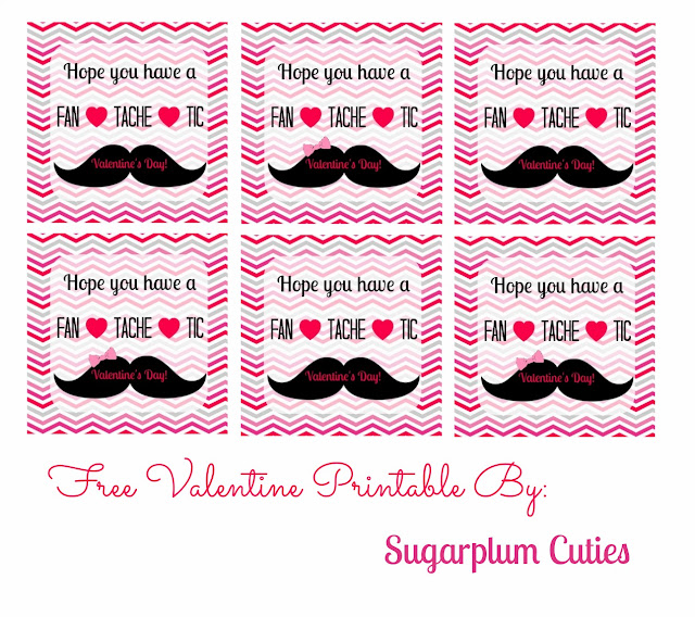 Sugarplum Cuties: Free Valentines Printables